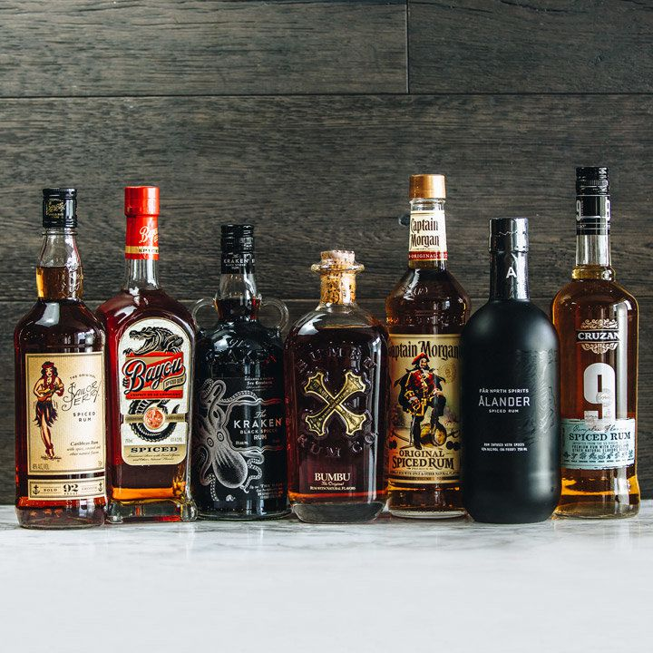 spiced rums