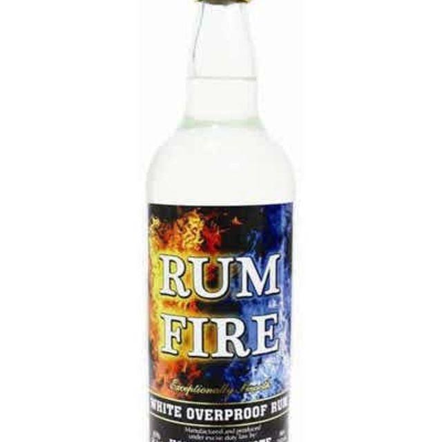 Rum Fire Overproof Jamaican Rum