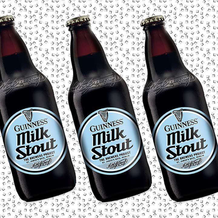 Guinness Milk Stout bottle