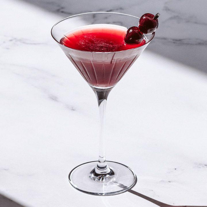 Cherry Bulldog cocktail