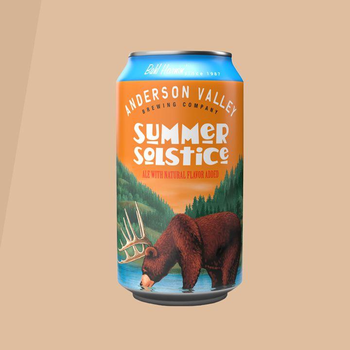 Cream Ale - Anderson Valley Brewing Summer Solstice