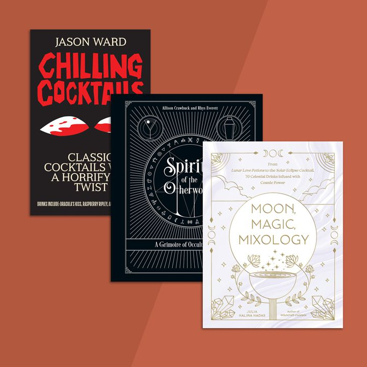 3 Halloween-Themed Cocktail Books To Inspire Your Bar's Drink Menu