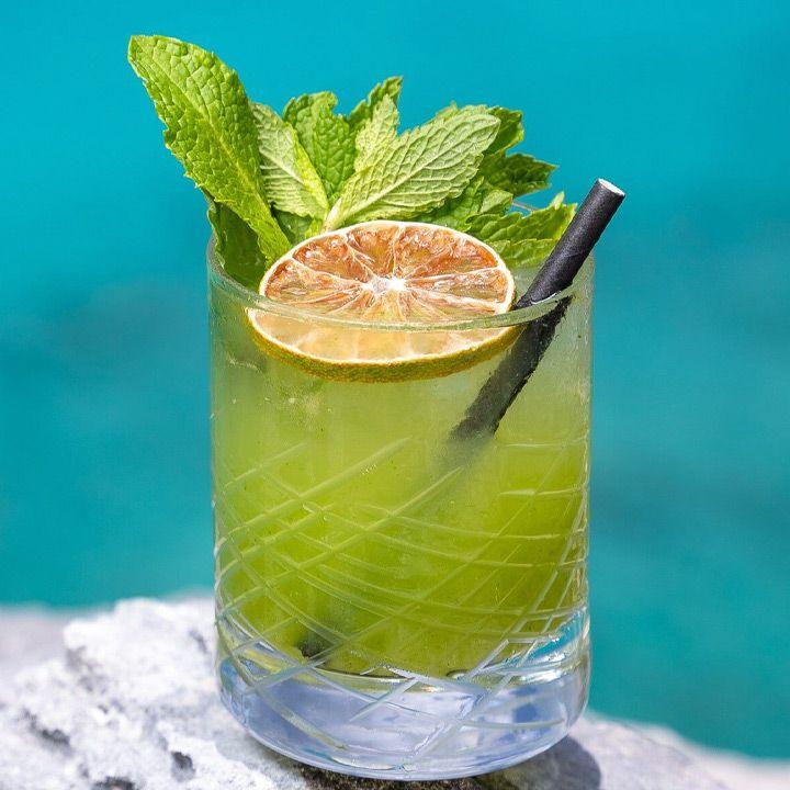 amanyara mojito cocktail