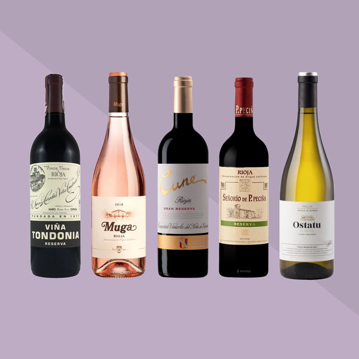 Rioja bottles