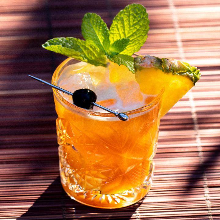 Kon-Tiki Grog cocktail