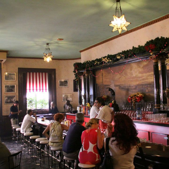 El Floridita bar interior