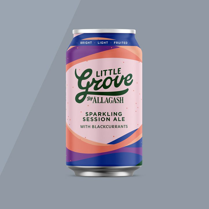 Allagash Little Grove Sparkling Session Ale with Blackcurrants