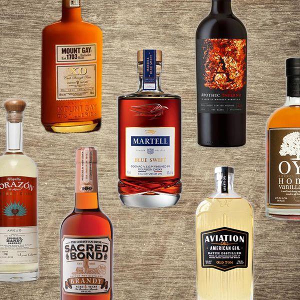 whiskey barrel-aged spirits
