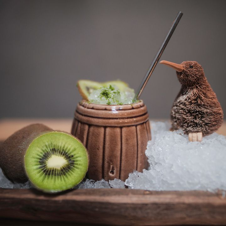 kiwi bird cocktail