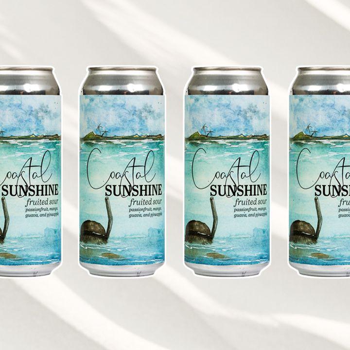 Coastal Sunshine Fruited Sour Ale