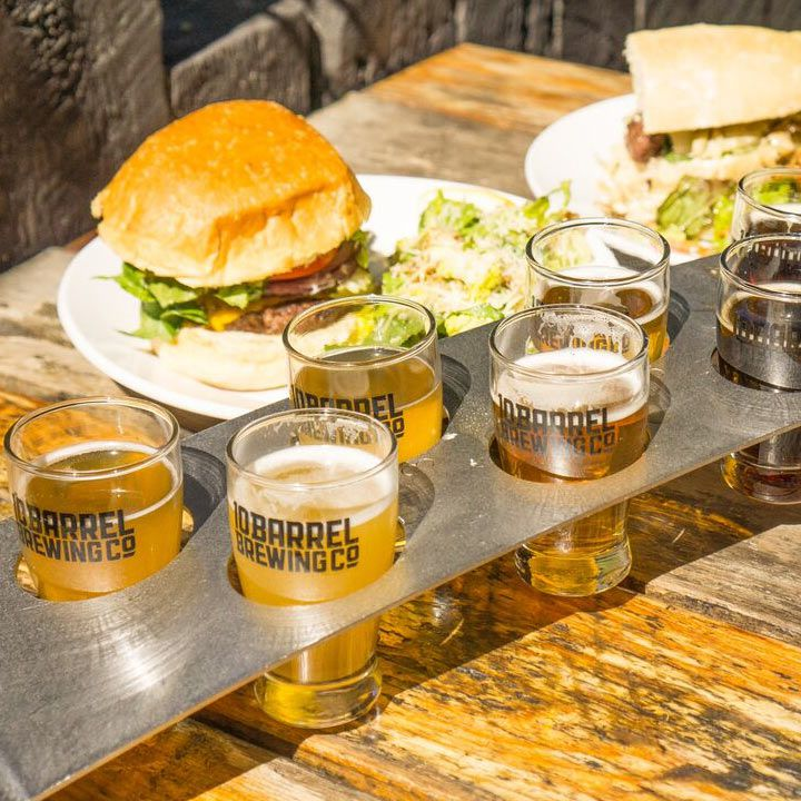 10 Barrel Brewing's pub flight