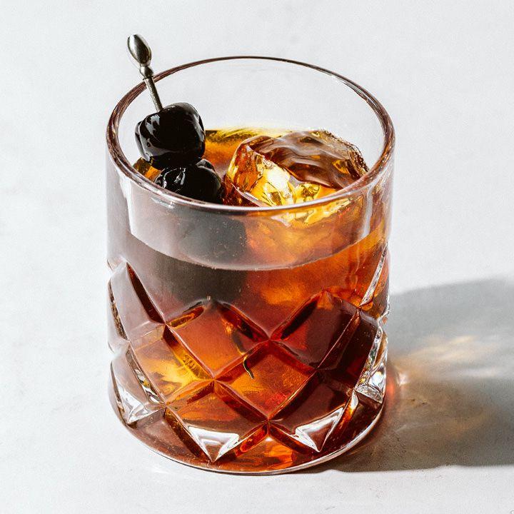 Vanilla Bourbon cocktail