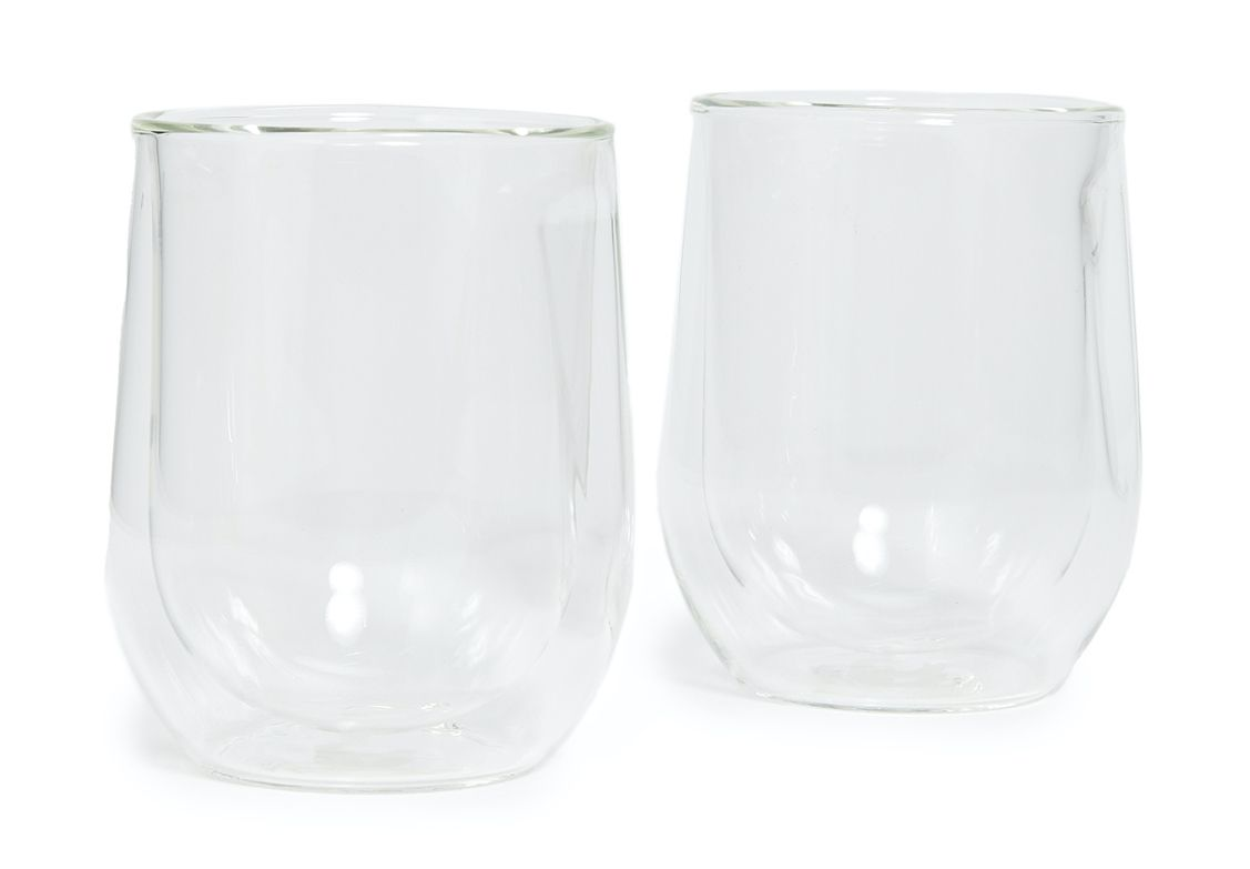 Corkcicle Double-Walled Stemless Glasses