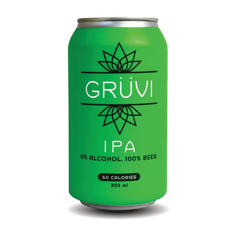 Gruvi IPA Non-Alcoholic Beer,