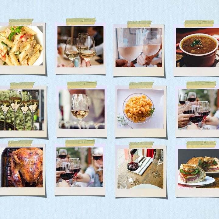 Wines with food