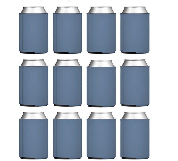 TahoeBay 12 Blank Beer Can Coolers