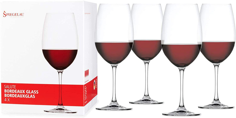 Spiegelau Salute Bordeaux Wine Glasses