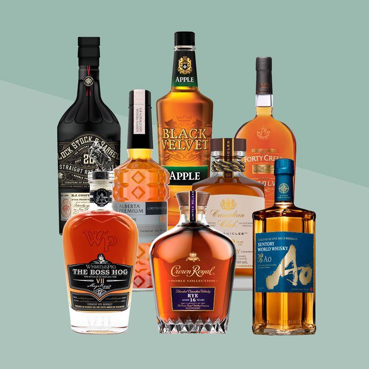 Canadian whiskies