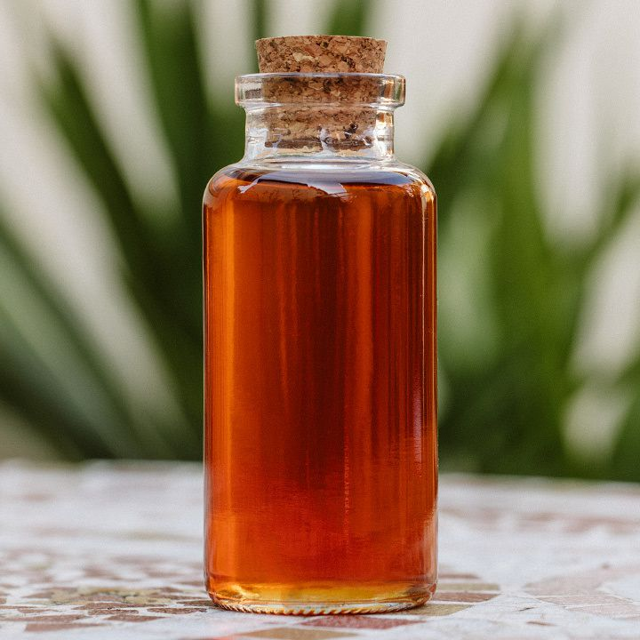 Tea syrup