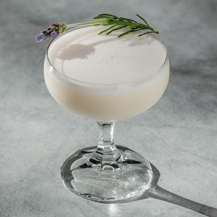 Lavender Honey Cream cocktail