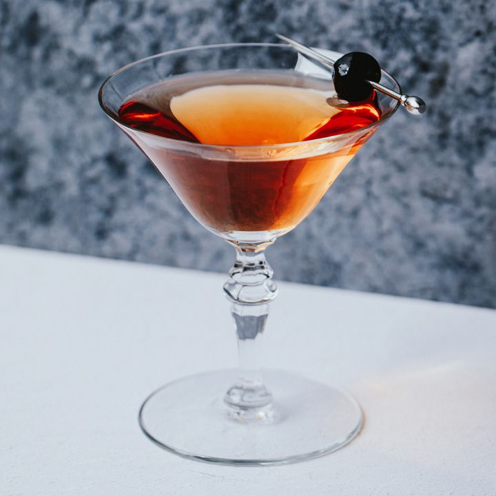 Not Manhattan cocktail
