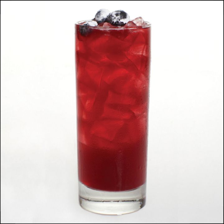 Red, White & Night cocktail