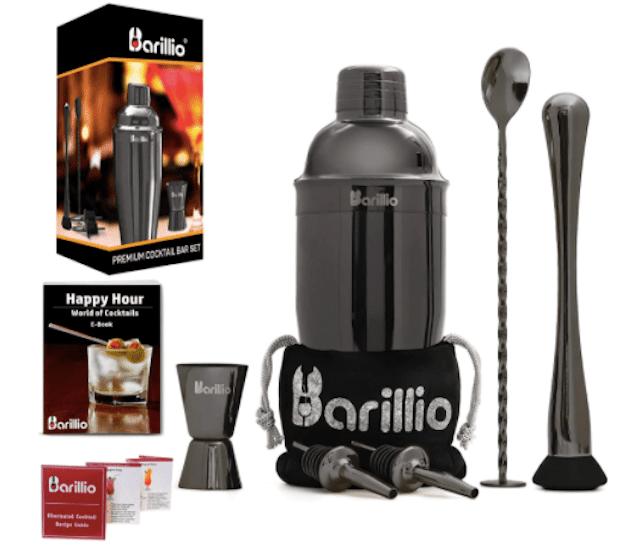Barillio Cocktail Shaker Set Bartender Kit