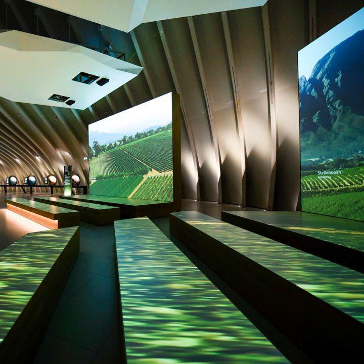 La Cité du Vin interior in Bordeaux, France