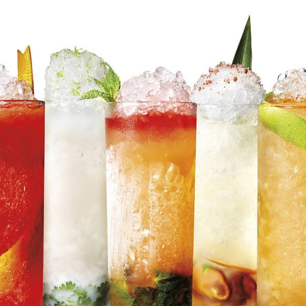 Collins/Highball cocktails