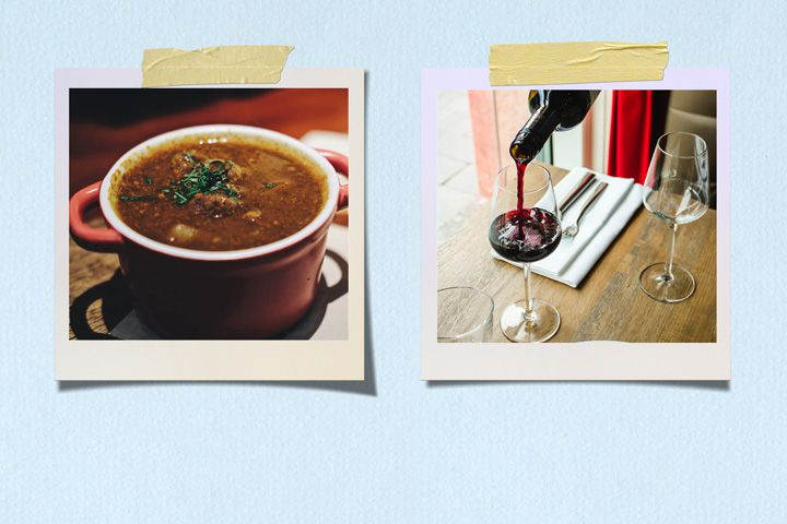 Lentil Soup and Côtes du Rhône
