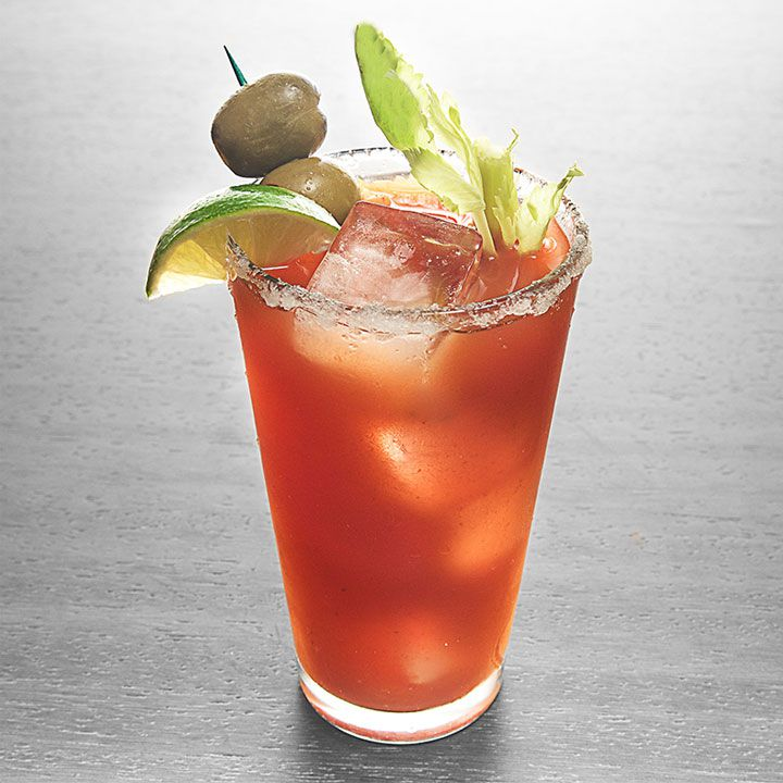 bourbon bloody mary cocktail