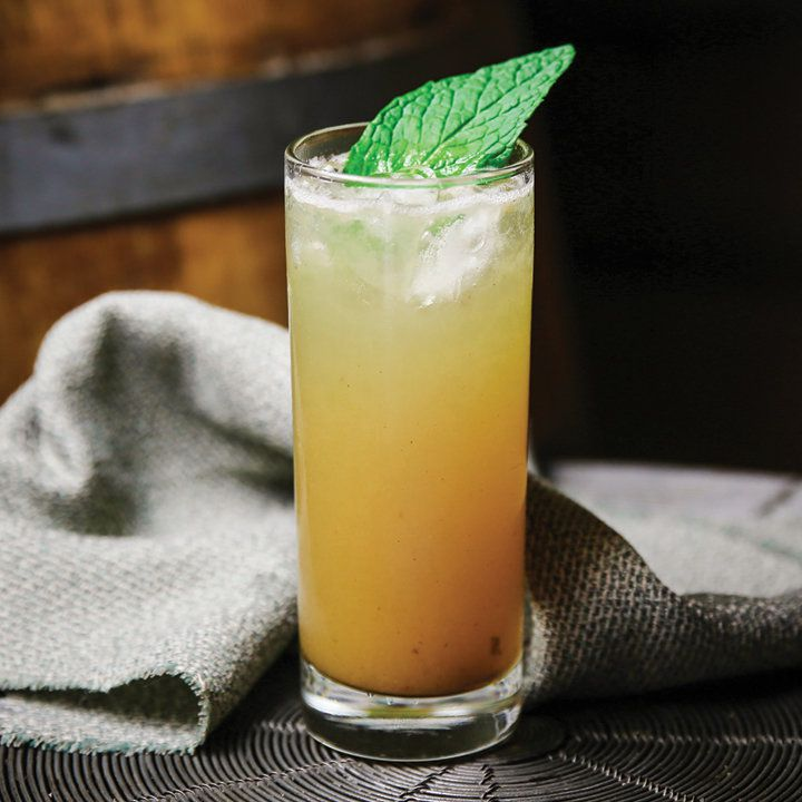 Salty Ginger-Ade cocktail