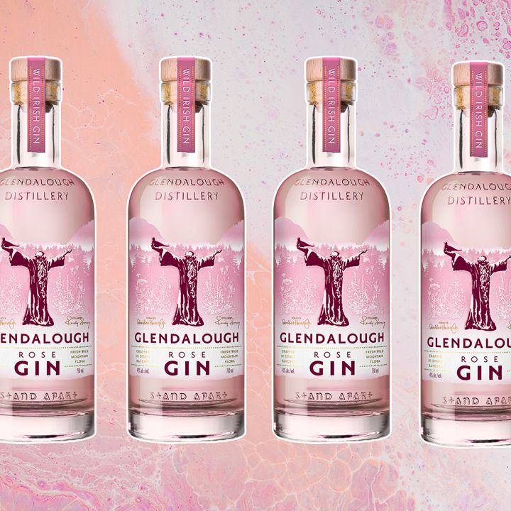 Glendalough Rose Gin bottle