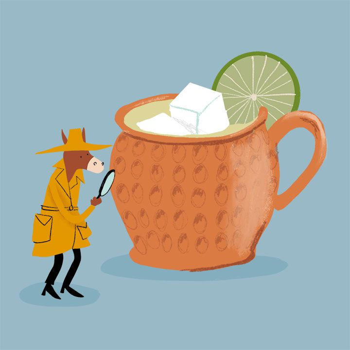 Moscow Mule illustration