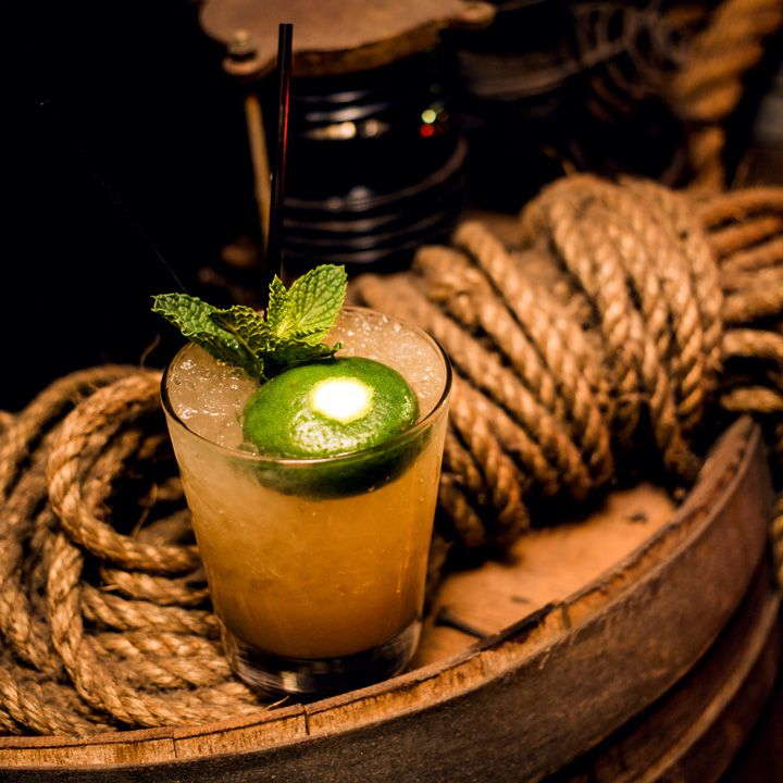 Mai Tai at Smuggler's Cove in San Francisco