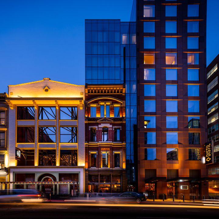 Hotel Distil in Louisville, Ky.
