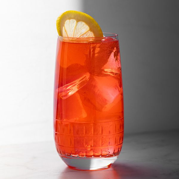 Bitter Lemon Cooler cocktail