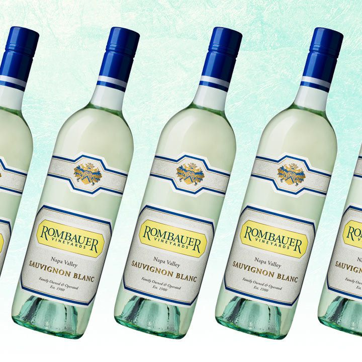 Rombauer Sauvignon Blanc bottles