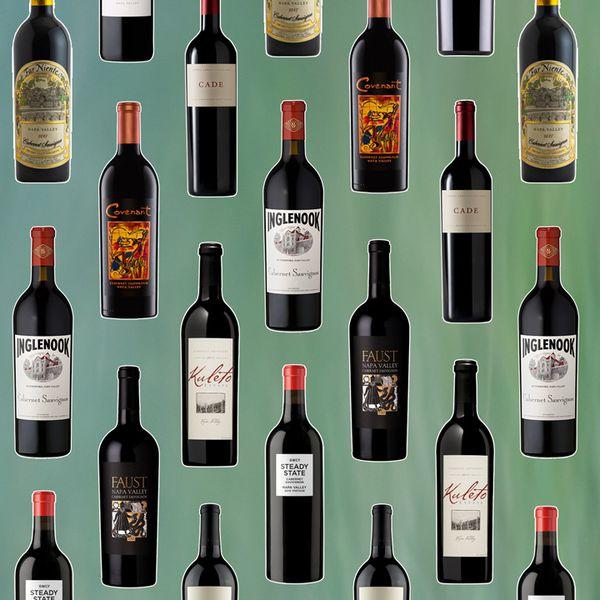 Napa cab bottles
