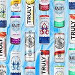 Boozy seltzer cans