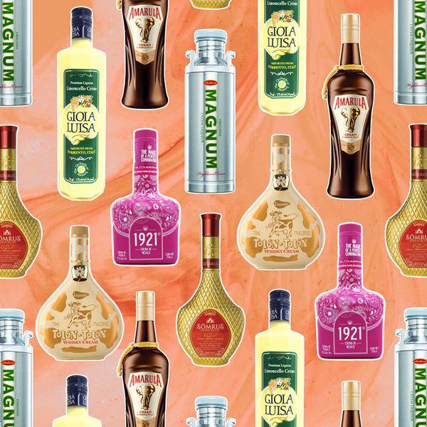 cream liqueur bottles