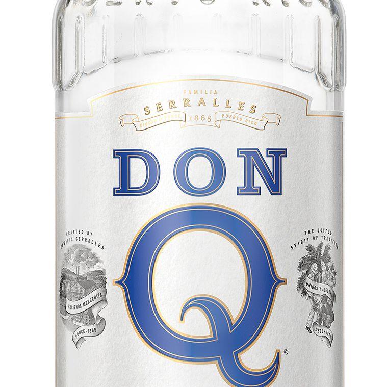 Don Q Cristal Bottle
