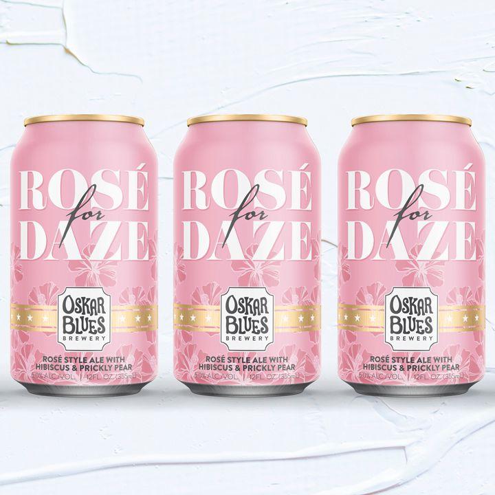 Oskar Blues Rosé for Daze