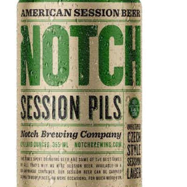 Notch Brewing Session Pils Czech Pale Lager