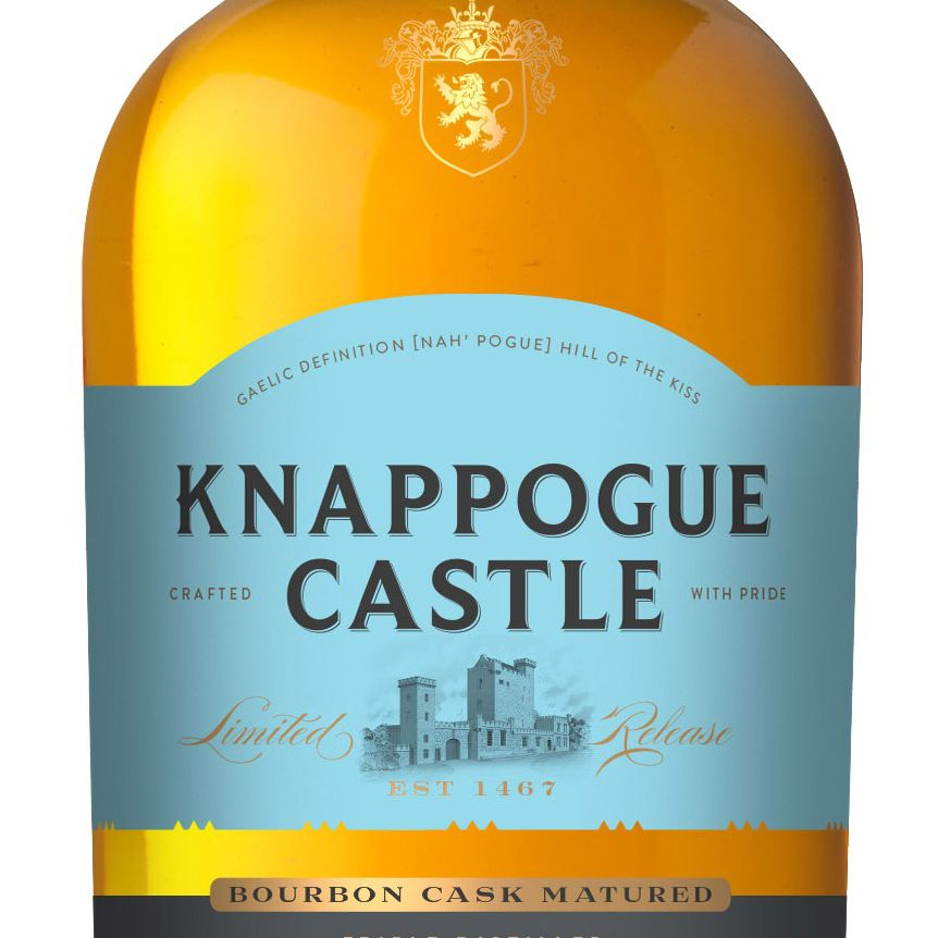 Knappogue Castle 12 Year Single Malt Irish Whiskey 43% ABV