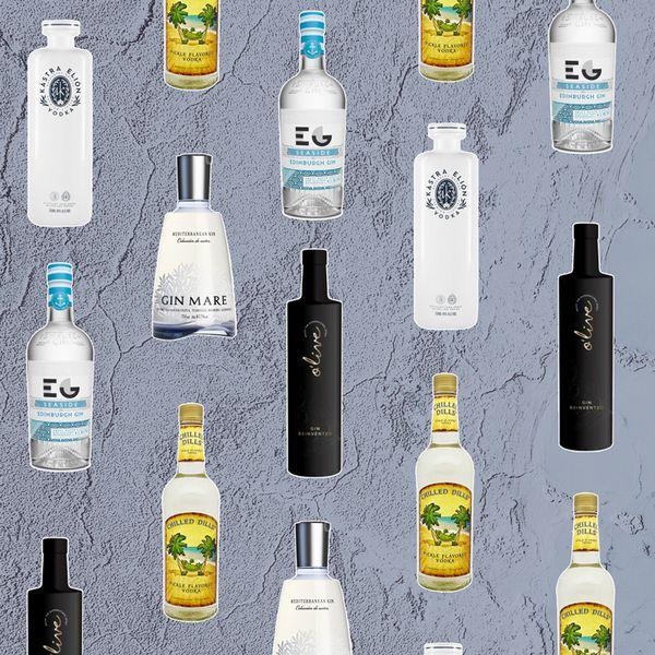 savory spirits bottles