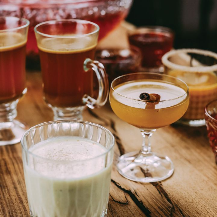 Squash Cocktails