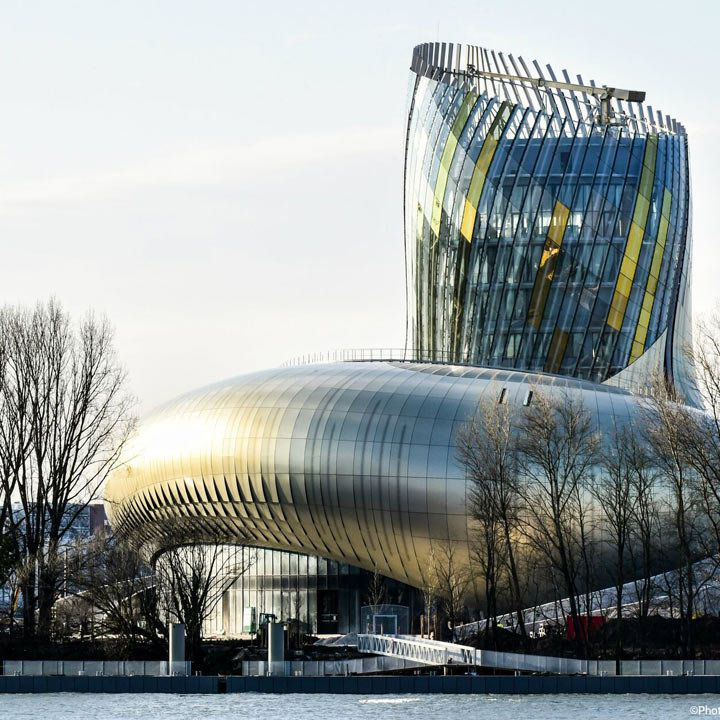 La Cité du Vin exterior