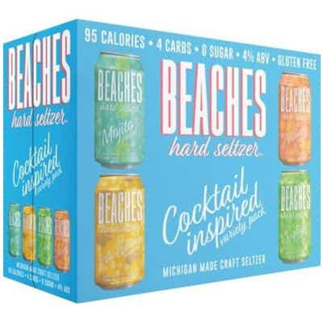 Beaches Hard Seltzer Cocktail Variety Pack