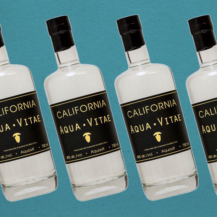 Geijer Spirits California Aqua Vitae bottle